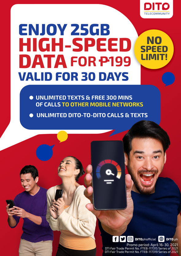 DITO Telecommunity expands service coverage to 21 more cities, enters Luzon